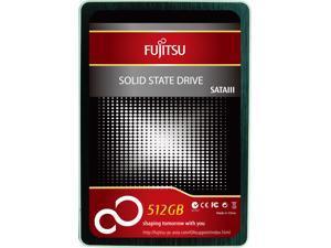 """Fujitsu FSA 2.5"""" 512GB 512G SATA III MLC Internal Solid State Drive (SSD)"""