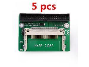 "5 pcs Compact Flash CF to 3.5"" IDE 39 Pin Converter/Adapter pc laptop"