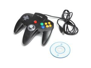 Retrolink Classic Nintendo 64 USB Controller for PC/MAC Computer - Black