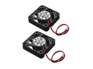 New 2PCS Case Fan 40x40x10mm 2 Pins 12V DC CPU Cooler Cooling PC Computer Heatsink