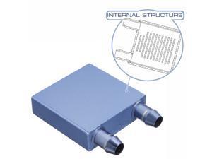 2 PCS Water Cooling Heatsink Block Waterblock Liquid Cooler Aluminium For CPU GPU New