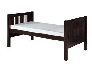 Camaflexi Twin Tall Platform Bed - Mission Headboard
