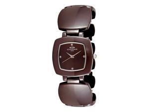 Oniss ON8050 Women's Brown Ceramic Bracelet Watch
