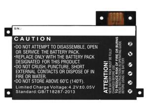 "1400mAh Replacement Battery 170-1056-00, S2011-002-A, DR-A014 for Amazon Kindle Touch 6"" eReader Tablet D01200"