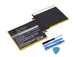 "Replacement 6000mAh S2012-002 58-000015 Battery for Amazon Kindle Fire HD 8.9"" 3HT7G Tablet with Installation Tools"