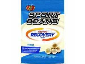 Jelly Belly Sport Beans : Protein Recovery Crisps : Vanilla - Box of 12
