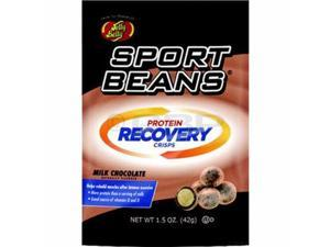 Jelly Belly Sport Beans : Protein Recovery Crisps : Milk Chocolate - Box of 12