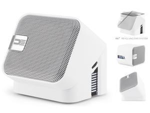 Democracy DEG100W Wireless Bluetooth Portable Speaker (White)