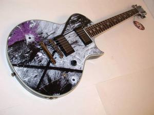 ESP LTD Gus G. EC Electric Guitar with Seymour Duncan Blackouts, LGUS600EC