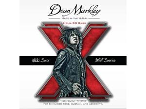 Dean Markley Nikki Sixx Helix SS Bass Strings, Gauges .050-.110, Model-2620