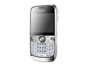 Huawei G6600 Unlocked Quad-Band GSM Phone with Bluetooth, QWERTY, 2MP Camera and MP3 Player (White)