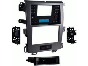 "Metra 99-5829CH 4.3"" Screen Din/2-Din Dash Kit for 2011-up Ford Edge - Charcoal"