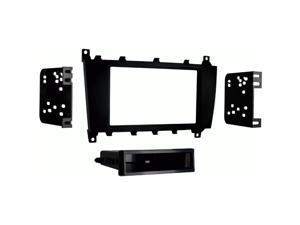 Metra 99-8721B Single/Double DIN Stereo Installation Dash Kit for Select 2005-2008 Mercedes-Benz Vehicles