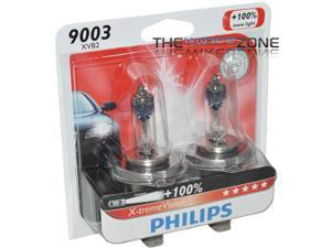 Philips X-treme Vision 9003 H4 100% More Light Halogen Headlight Bulb (pair)