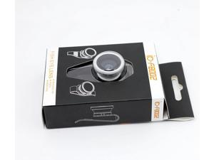 Universal Detachable Camera Lens F8002 External Clip Lens 180 Degree Fish Eye Lens For iPhone iPad Samsung