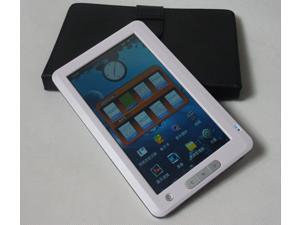 E-book Reader 7 inch TFT Touch Screen Plastic material 8GB Multi-function Ebook Reader MP3 MP4 Phote Video White color