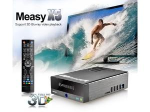 Measy X5 3D Blu-ray Full HD 1080P HDMI USB RTD1186 Android TV Box Network Media Player