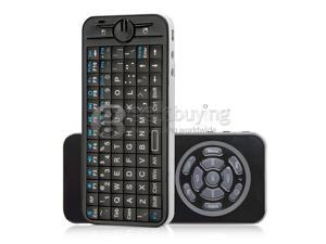 Geek Buying KP-810-16 IPazzPort Fly/Air Mouse 2.4GHz Mini Wireless Keyboard with 2 Mode Learning IR Remote Black