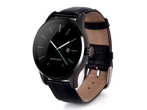 K88H Smart Bluetooth Watch Heart Rate Monitor Smartwatch MTK2502 Siri Function Gesture Control For iOS/Andriod - Black