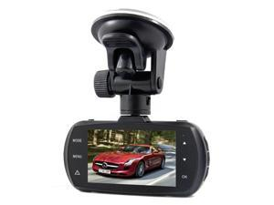 A12 Ambarella A12 Chipset Car DVR Recorder Super HD 1440P H.264 / 170 Degree View Angle / Night Vision - Black