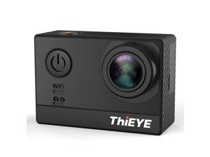 Thieye T5e WiFi 4K Action Camera Ambarella A12LS75 Sony IMX117 2.0' TFT LCD Screen 170 Degree Wide Angle Sports- Black