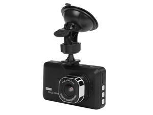 X5 Car DVR Sunplus1626 FHD 1080P 3.0-inch LCD 120 Degree Loop Recording Motion Detection Car DVR - Black