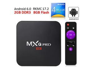 MXQ PRO KODI 17.2 4K Android TV BOX RK3229 VP9 2GB/8GB WIFI Dolby DTS
