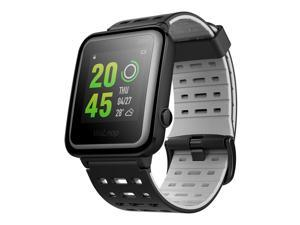 [HK Stock][Official Global Version]WeLoop Hey S3 1.28 Inch Memory LCD Sports Smart Watch GPS+AGPS 50 Meters Water Resistance Bluetooth 4.0 Heart Rate Sensor