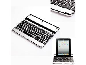 3 in 1 Wireless Bluetooth Keyboard Aluminum Case Stand for New iPad iPad 2 3 - OEM
