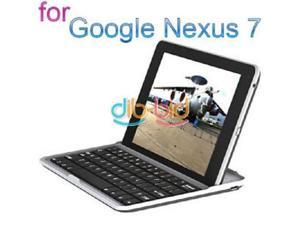 New Wireless Bluetooth Keyboard Stand Case Cover for Google Nexus 7 Tablet PC