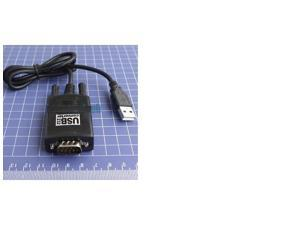 5pcs USB 2 0 to 9 Pin RS232 com Port Serial Convert Adapter Black