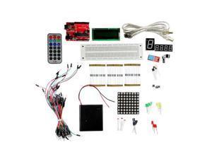 Getech Arduino Uno R3 DIY ATMEGA328 Starter Kit DHT11 DST8B2 LM35 LCD1602 RGB IR
