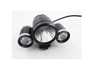 CREE XM-L T6 LED +2x XPE R2 LED Bike Bicycle Light 8.4V Rechargeable T6 LED 2400 Lumen Bike Light / Bike Bicycle Light HeadLight ...