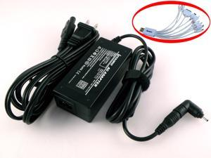 ITEKIRO AC Adapter Charger for Asus Eee PC 1008HA-PU1X-BK, 1008HA-PU1X-BU, 1008HA-PU1X-PI, 1008HA-PU1X-WT, 1008HAB