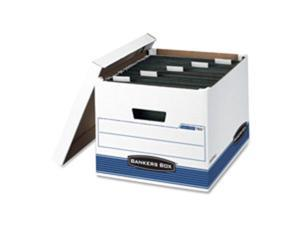 Fellowes Mfg. Co. FEL00785 Storage Boxes- Ltr-Lgl- 12-.50in.x15-.75in.x10-.50in.- 4-CT- WE-BE