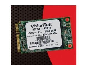 Visiontek mSATA SSD 60GB SATA III 6.0Gb/s Solid State Drive - 900610
