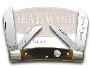 BOKER TREE BRAND Beer Barrel Wood Congress Pocket Knife