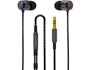 SoundMAGIC E10 Noise Isolating In-Ear Earphones Black/Gunmetal