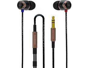 SoundMAGIC E10 Noise Isolating In-Ear Earphones Black/Gold