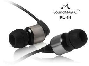 SoundMAGIC PL11 In-Ear Earphones for iPod, MP3 Gunmetal