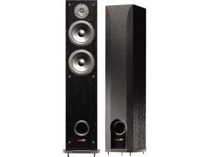 Polk Audio R50 Two-Way Floorstanding Speaker Single-Black