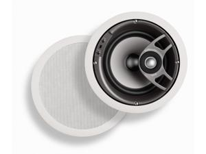 Polk Audio TC80i Round 2-Way 8-Inch In-Ceiling Loudspeaker (Single, White)