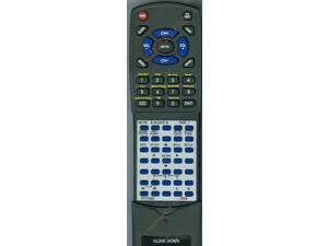 DENON Replacement Remote Control for 30701010300AD, RC1168, AVR1713