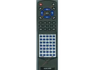 DENON Replacement Remote Control for RC1128, DBP1610, DNV500BD, DBP2010CI