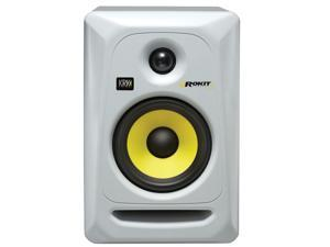 KRK RP5G3W-NA Rokit 5 Generation 3 Powered Studio Monitor, White, Single Speaker