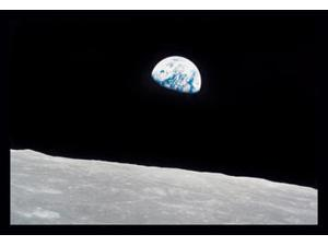 Buyenlarge - 10695-6CG28 - Earth Rise 28x42 Giclee on Canvas