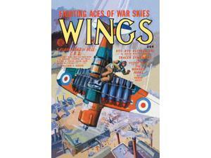 Buyenlarge - 03881-0CG28 - Bye Bye Blitzkrieg. 28x42 Giclee on Canvas