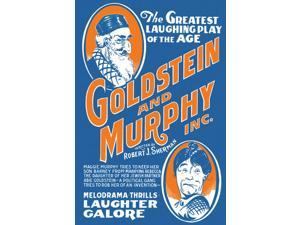 Buyenlarge - 00505-XCG28 - Goldstein and Murphy Inc.: The Greatest Laughing Play of the Age 28x42 Giclee on Canvas