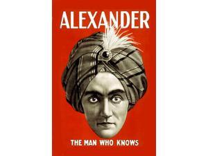 Buyenlarge - 21936-XCG28 - Alexander: The Man Who Knows 28x42 Giclee on Canvas