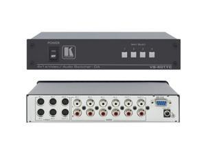 Kramer Electronics - VS-401YC - 4x1:2 s-Video and Stereo Audio Switcher